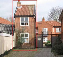 На продажу выставлен один из самых маленьких домов в Великобритании