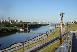 Мост в Тюмени