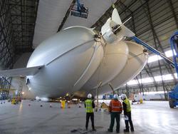 В Англии во время испытаний разбился самое большое воздушное судно