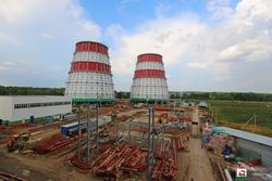 В Уфимском микрорайоне Затон ведется строительство ТЭЦ и жилого квартала
