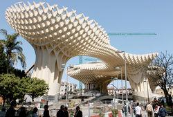 В Испании построили самое крупное сооружение из дерева