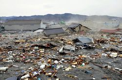 В Японии подсчитали число разрушенных строений