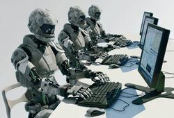 Роботы за работой