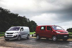 Peugeot Expert и Citroen Jumpy