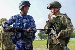 Восток-2018 Россия Китай