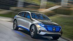 Кроссовер Mercedes-Benz EQC