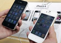 Белый iPhone 4 толще черного