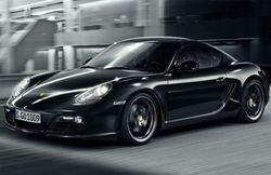 Porsche Cayman S Black Edition: всего 500 экземпляров