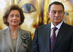 Жена Мубарака отказалась от имущества в пользу государства