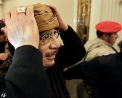 Международный уголовный суд запрашивает ордер на арест М.Каддафи