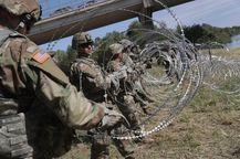 Военные на границе с Мексикой